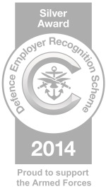 Silver Award - Defence Empoyer Regognition