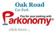 Pay for Oak Road Car Park