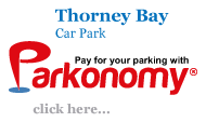 Pay for Thorney Bay Car Park