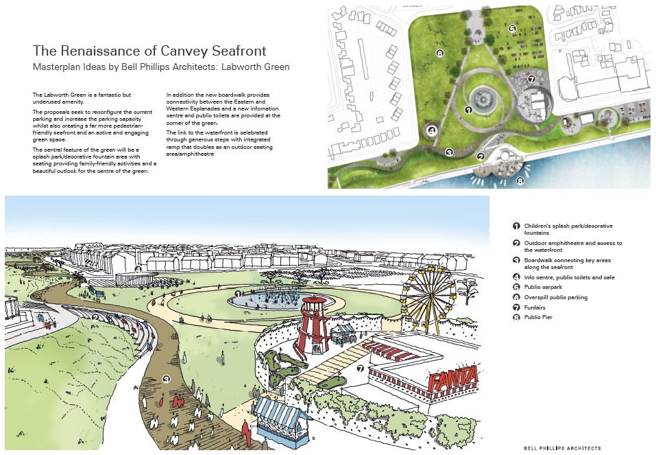 Canvey Seafront Masterplan - Artist Impression 2