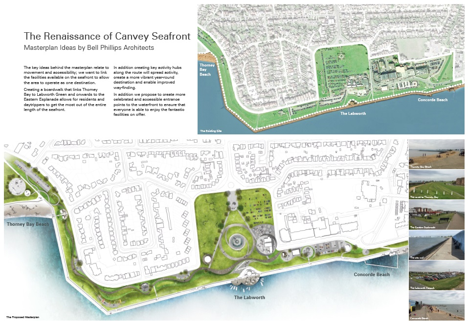 Canvey Seafront Masterplan - Artist Image 1