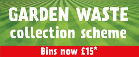 Garden Waste Bins now £15