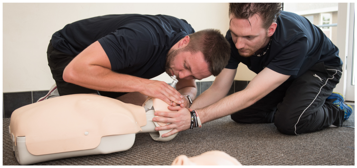 Image of CPR training