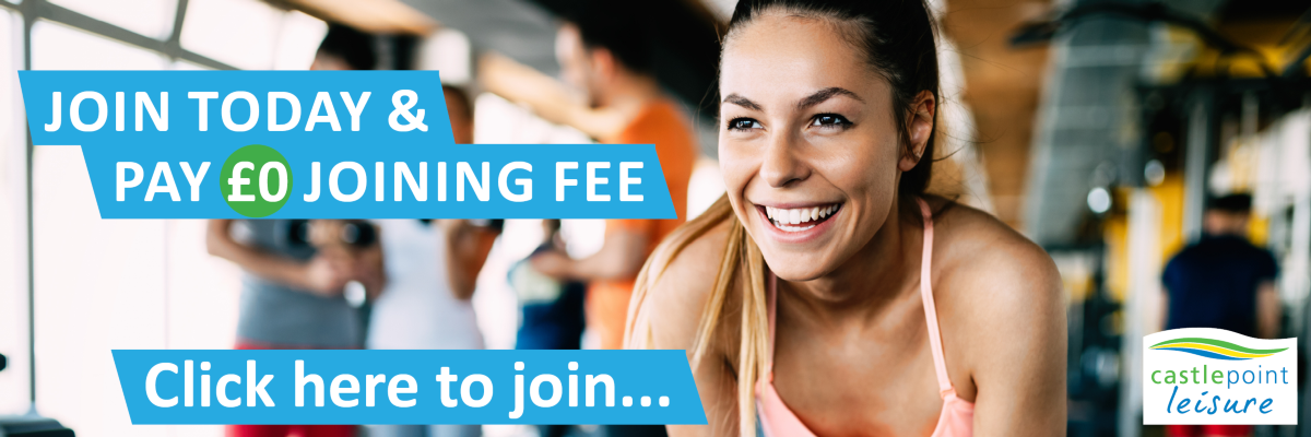 Join today and pay no joining fee