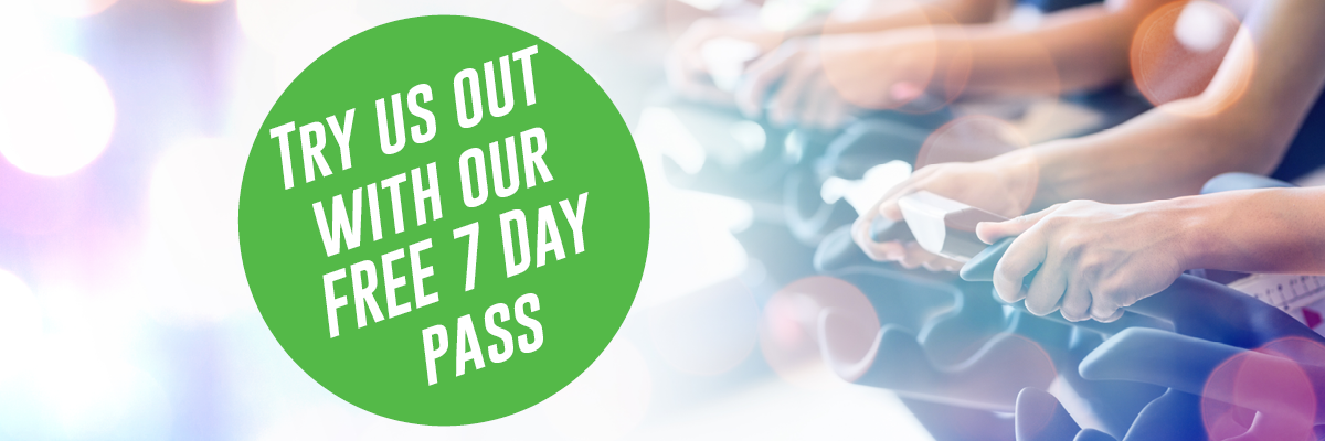 Try our Free 7 Day Pass Banner