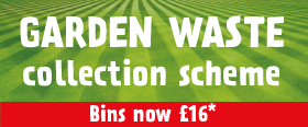 Garden Waste Bins now £16