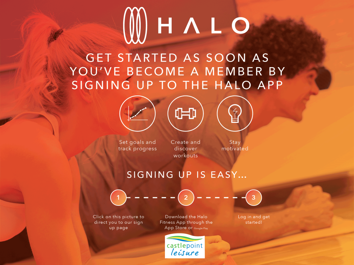 click here to sign up to the halo app today