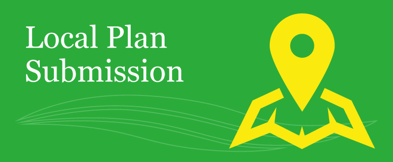 Banner - Local plan submission