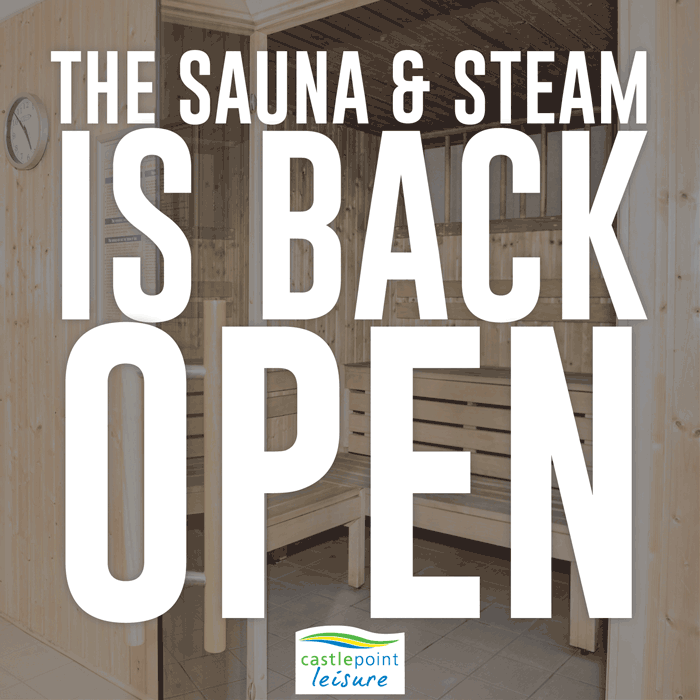 Sauna & Steam is back open